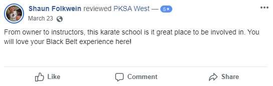 Pksatest4, Cassady Martial Arts Academy Macomb IL